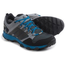 adidas outdoor Kanadia 7 Gore-Tex® Trail Running Shoes - Waterproof (For Men) in Vista Grey/Black/Chalk White - Closeouts