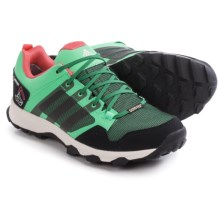 adidas outdoor Kanadia 7 Gore-Tex® Trail Running Shoes - Waterproof (For Women) in Green Glow/Blanch Green/Super Blush - Closeouts