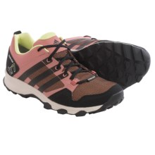 adidas outdoor Kanadia 7 Gore-Tex® Trail Running Shoes - Waterproof (For Women) in Raw Pink/Black/Clear Brown - Closeouts
