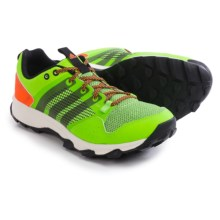 adidas outdoor Kanadia 7 Trail Running Shoes (For Men) in Solar Green/Black/Solar Orange - Closeouts
