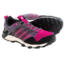 adidas outdoor Kanadia 7 Trail Running Shoes (For Women) in Ash Purple/Black/Bold Pink - Closeouts