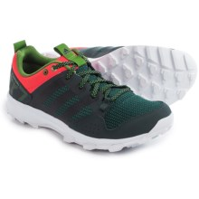 adidas outdoor Kanadia 7 Trail Running Shoes (For Women) in Dark Grey/Black/Shock Red - Closeouts