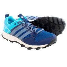adidas outdoor Kanadia 7 Trail Running Shoes (For Women) in Midnight Indigo/Chalk White/Bright Cyan - Closeouts