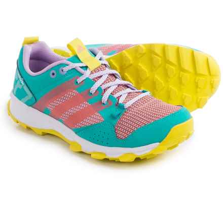 adidas outdoor Kanadia 7 Trail Running Shoes (For Women) in Vivid Mint/Sun Glow/Bright Yellow - Closeouts