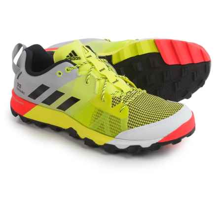 adidas outdoor Kanadia 8 Trail Running Shoes (For Men) in Solar Yellow/Black/Clear Onix - Closeouts