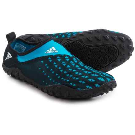 adidas outdoor Kurobe II Water Shoes (For Men) in Black/Solar Blue/White - Closeouts