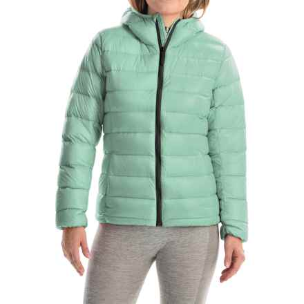 adidas outdoor Light Down Jacket - Hooded (For Women) in Ice Green - Closeouts
