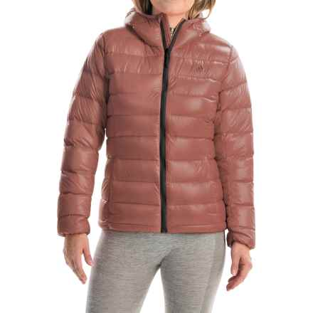 adidas outdoor Light Down Jacket - Hooded (For Women) in Raw Pink - Closeouts