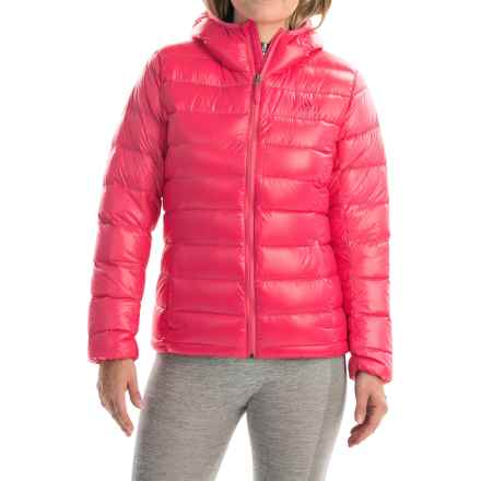 adidas outdoor Light Down Jacket - Hooded (For Women) in Super Pink - Closeouts
