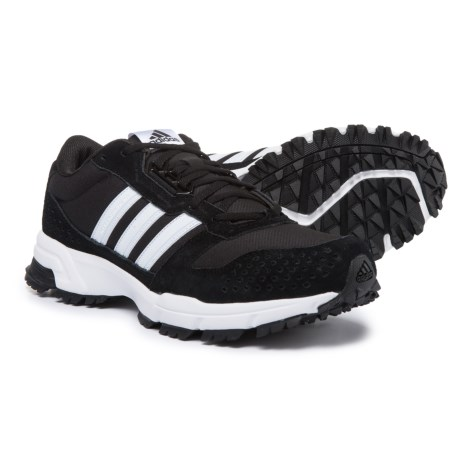 adidas outdoor Marathon 10 Trail Running Shoes (For Men) in Black/White/White