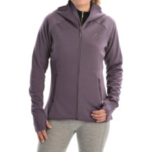 adidas outdoor Mountainglow Fleece Jacket (For Women) in Ash Purple - Closeouts