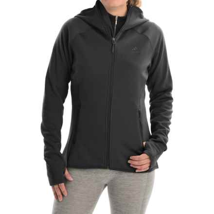 adidas outdoor Mountainglow Fleece Jacket (For Women) in Black - Closeouts