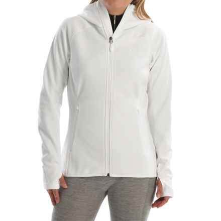 adidas outdoor Mountainglow Fleece Jacket (For Women) in White - Closeouts