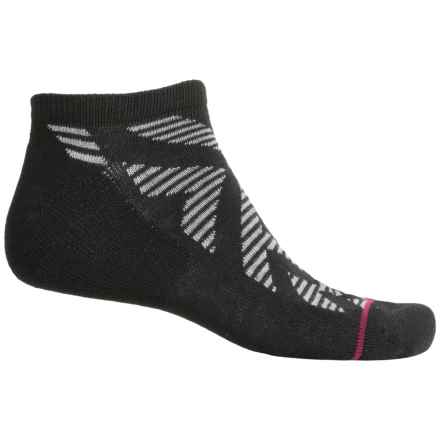 adidas outdoor Neo No-Show Socks - Below the Ankle (For Men) in Black/Heather Grey/Berry/Tribe Yellow - Closeouts