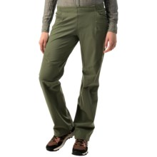 adidas outdoor Pack-It Pants - UPF 50+ (For Women) in Base Green - Closeouts