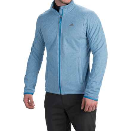 adidas outdoor Panto Fleece Jacket (For Men) in Super Blue - Closeouts