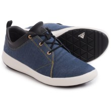 adidas outdoor Satellize Shoes (For Men) in Lucky Blue/Chalk White/Earth - Closeouts