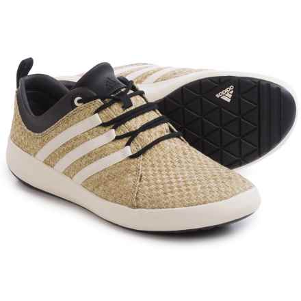 adidas outdoor Satellize Shoes (For Men) in Matte Gold/Chalk White/Black - Closeouts