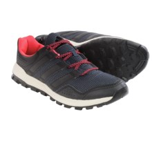 adidas outdoor Slingshot Trail Running Shoes (For Women) in Midnight Grey/Black/Flash Red - Closeouts