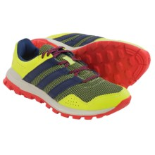 adidas outdoor Slingshot Trail Running Shoes (For Women) in Solar Yellow/Midnight Indigo/Solar Red - Closeouts