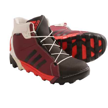 adidas outdoor Slopecruiser CP Primaloft® Winter Boots - Waterproof, Insulated (For Men) in Cardinal/Black/Dark Orange - Closeouts