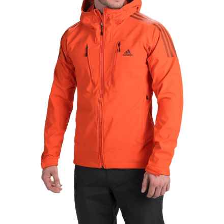 adidas outdoor Swift Soft Shell Jacket (For Men) in Bold Orange/Fox Brown - Closeouts