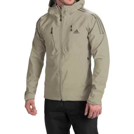 adidas outdoor Swift Soft Shell Jacket (For Men) in Tech Beige/Vista Grey - Closeouts