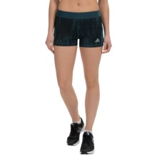 adidas outdoor Techfit® Boy Shorts - UPF 50+ (For Women) in Midnight/Print - Closeouts