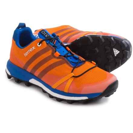 adidas outdoor Terrex Agravic Trail Running Shoes (For Men) in Eqt Orange/Black/Orange - Closeouts