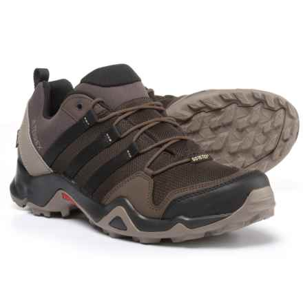 adidas outdoor Terrex AX2R Gore-Tex® Hiking Shoes - Waterproof (For Men) in Night Brown/Black/Brown - Closeouts