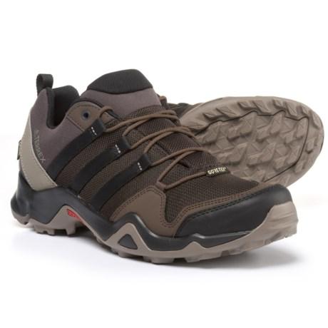 adidas outdoor Terrex AX2R Gore-Tex® Hiking Shoes - Waterproof (For Men) in Night Brown/Black/Brown