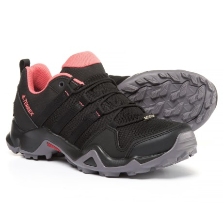 adidas outdoor Terrex AX2R Gore-Tex® Hiking Shoes - Waterproof (For Women) in Black/Black/Tactile Pink