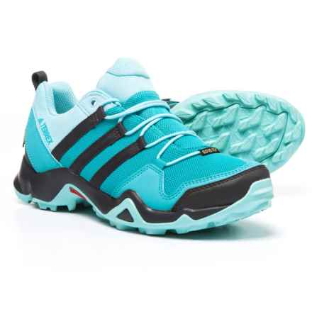 adidas outdoor Terrex AX2R Gore-Tex® Hiking Shoes - Waterproof (For Women) in Vapour Blue/Utility Black/Clear Aqua - Closeouts