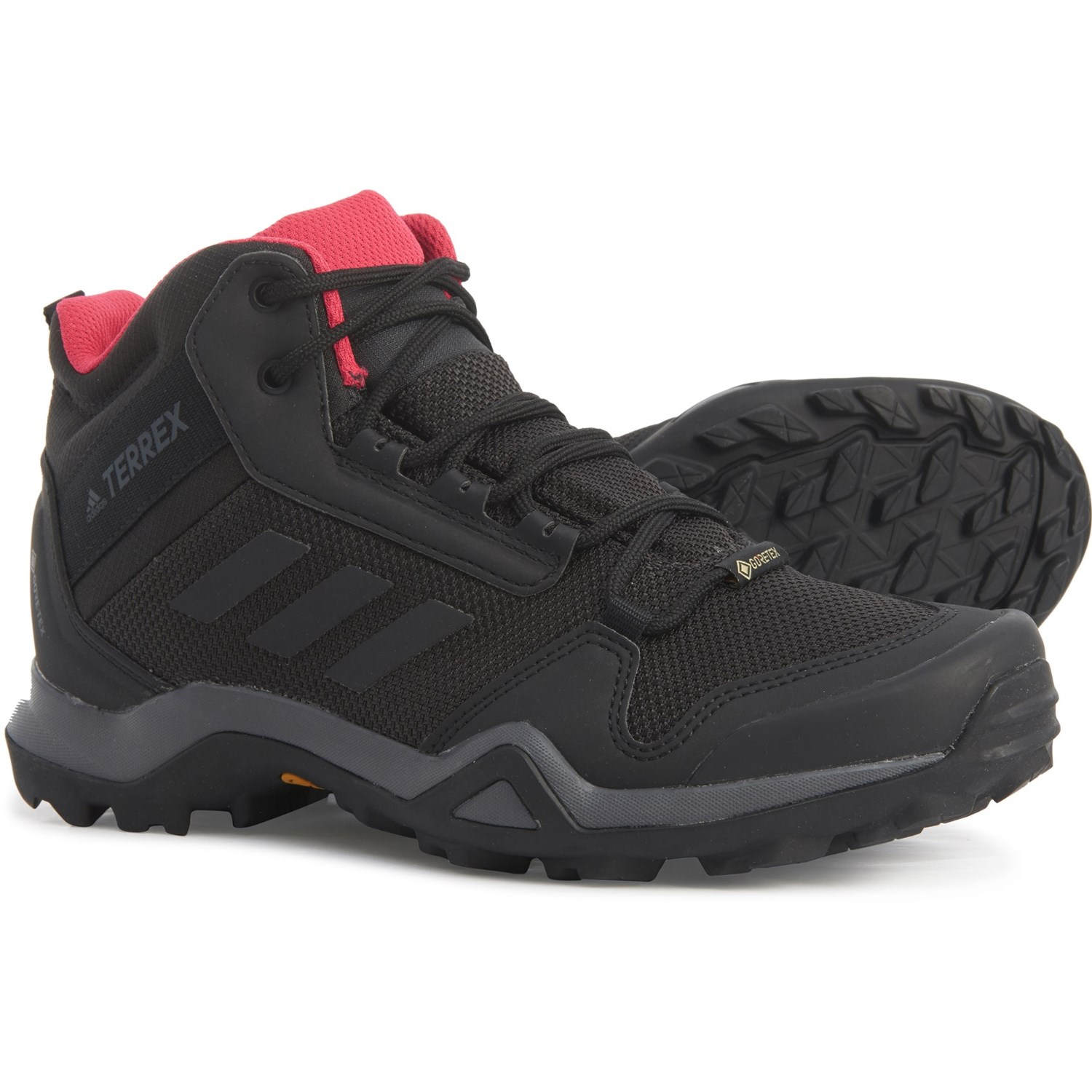 adidas outdoor Terrex AX3 Mid Gore-Tex® Hiking Boots (For ...