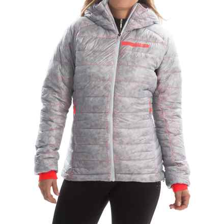 adidas outdoor Terrex ClimaHeat® Agravic Down Jacket - 800 Fill Power (For Women) in Clear Grey - Closeouts