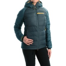 adidas outdoor Terrex ClimaHeat® Down Jacket - 800 Fill Power, Hooded (For Women) in Midnight - Closeouts