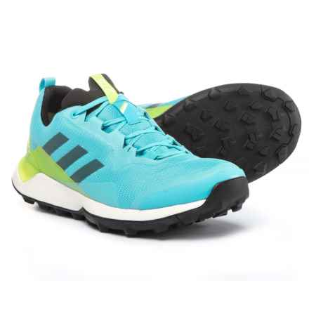 adidas Outdoor Terrex CMTK Gore-Tex® Trail Running Shoes - Waterproof (For Women) in Vapour Blue/Black/Semi Solar Yellow - Closeouts