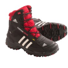 Adidas Outdoor Terrex Conrax CP PrimaLoft® Boots - Waterproof, Insulated (For Big Kids) in Black/Chalk/Light Scarlet - Closeouts