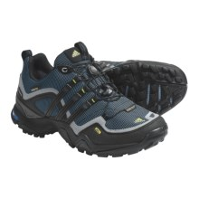 Adidas Outdoor Terrex Fast X FM Gore-Tex® Trail Shoes - Waterproof (For Women) in Sharp Blue/Black/Shift Grey - Closeouts