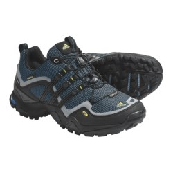 Adidas Outdoor Terrex Fast X FM Gore-Tex® Trail Shoes - Waterproof (For Women) in Sharp Blue/Black/Shift Grey