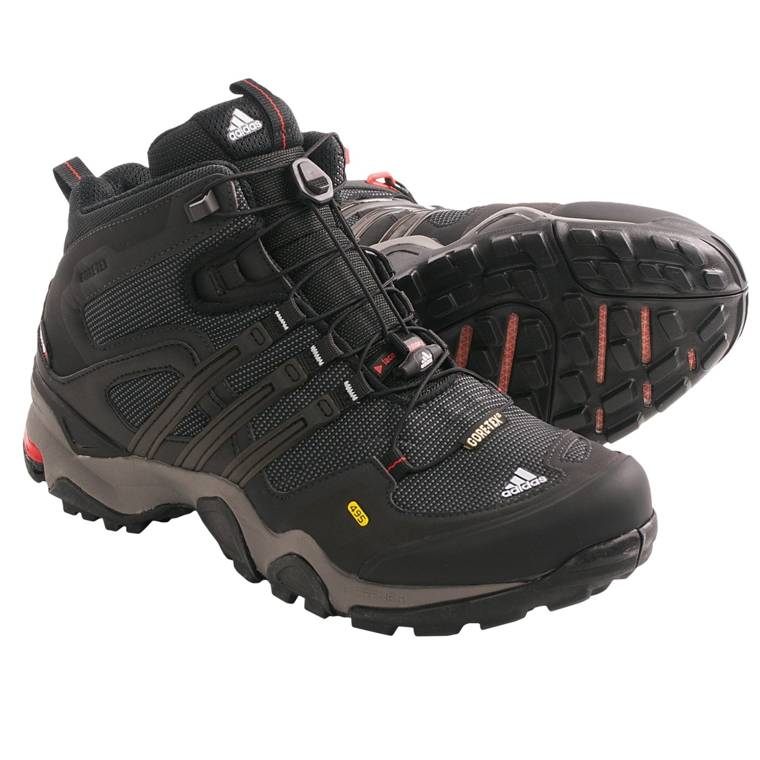edc8ce8b670746 Adidas Outdoor Terrex Fast X FM Mid Gore Tex® Hiking Boots (For Men) 4623W  69