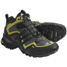 Adidas Outdoor Terrex Fast X FM Mid Gore-Tex® Hiking Boots - Waterproof (For Men) in Mid Cinder/Black/Seaweed - Closeouts
