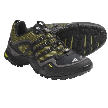 Adidas Outdoor Terrex Fast X FM Trail Running Shoes (For Men) in Seaweed/Black/Dark Cinder