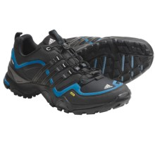 Adidas Outdoor Terrex Fast X FM Trail Running Shoes (For Men) in Solid Grey/Black/Sharp Blue - Closeouts
