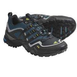 Adidas Outdoor Terrex Fast X FM Trail Running Shoes (For Women) in Sharp Blue/Black/Shift Grey