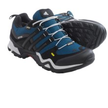 adidas outdoor Terrex Fast X Gore-Tex® Hiking Shoes - Waterproof (For Men) in Blue/Black/Clear Onix - Closeouts