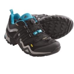 Adidas Outdoor Terrex Fast X Gore-Tex® Shoes - Waterproof (For Women) in Pride Pink/Black/Vivid Red