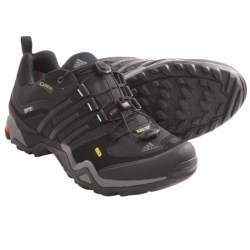 Adidas Outdoor Terrex Fast X Gore-Tex® Trail Shoes - Waterproof (For Men) in Black/Core Energy