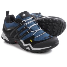 Adidas Outdoor Terrex Fast X Gore-Tex® XCR® Hiking Shoes - Waterproof (For Men) in Blue/Black/Clear Onix - Closeouts