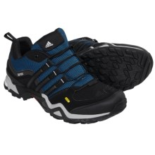 adidas outdoor Terrex Fast X Hiking Shoes (For Men) in Blue/Black/Clear Onix - Closeouts